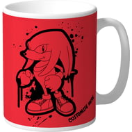 Personalised Classic Sonic Graffiti Knuckles Mug