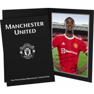 Personalised Manchester United FC Bailly Autograph Photo Folder
