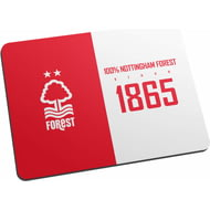 Personalised Nottingham Forest FC 100 Percent Mouse Mat
