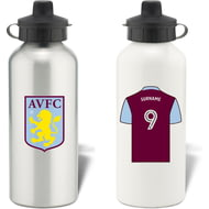 Personalised Aston Villa FC Aluminium Water Bottle