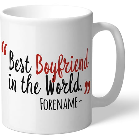 Personalised Nottingham Forest Best Boyfriend In The World Mug