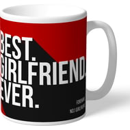 Personalised Brentford Best Girlfriend Ever Mug