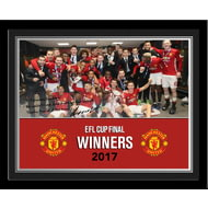 Personalised Manchester United EFL Cup Winners 2017 Photo Frame