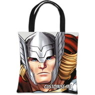 Personalised Marvel Avengers Assemble Thor Tote Bag