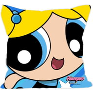 Personalised Powerpuff Girls Bubbles Comic Cushion