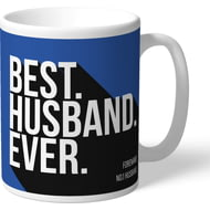 Personalised Sheffield Wednesday Best Husband Ever Mug
