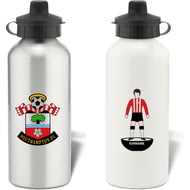 Personalised Southampton FC Player Figure Aluminium Sports Water Bottle