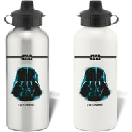 Personalised Star Wars Darth Vader Paint Aluminium Sports Water Bottle