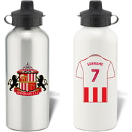 Personalised Sunderland AFC Aluminium Water Bottle