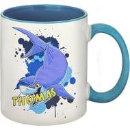 Personalised Underwater Adventure Shark Mug