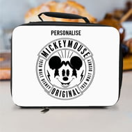 Personalised Disney Mickey Mouse 1928 Original Lunch Bag - Black