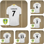 Personalised Leeds United FC Dressing Room Shirts Coasters