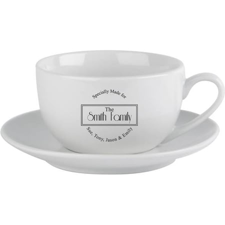 Personalised Specially Made For Cup & Saucer