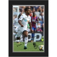 Personalised Swansea City AFC Routledge Autograph Photo Folder