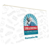 "Personalised Wallace And Gromit ""Smashing!"" Small Wash Bag"