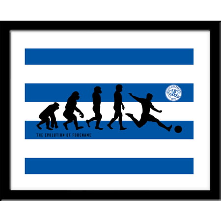 Personalised Queens Park Rangers FC Evolution Print