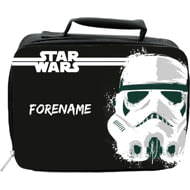 Personalised Star Wars Storm Trooper Paint Insulated Lunch Bag - Black