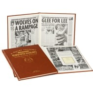 Personalised Warrington Wolves Rugby Newspaper Book