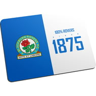 Personalised Blackburn Rovers FC 100 Percent Mouse Mat