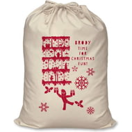 Personalised In The Night Garden Christmas Fun Santa Sack
