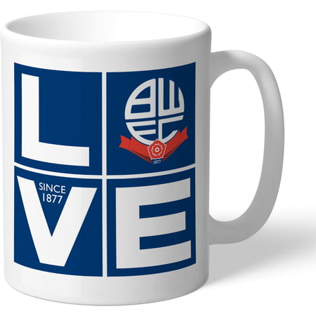 Personalised Bolton Wanderers Love Mug