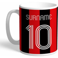 Personalised AFC Bournemouth Retro Shirt Mug