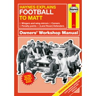 Personalised Haynes Explains Football Book