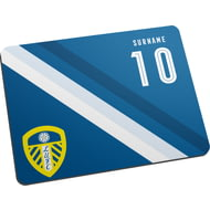 Personalised Leeds United FC Stripe Mouse Mat
