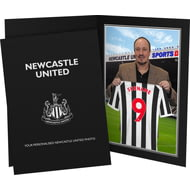 Personalised Newcastle United FC 9x6 Manager Photo Folder