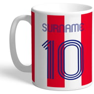 Personalised Stoke City Retro Shirt Mug