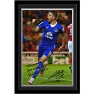 Personalised Everton FC Mirallas Autograph Photo Framed