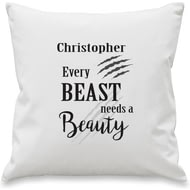 Personalised Every Beast Cushion