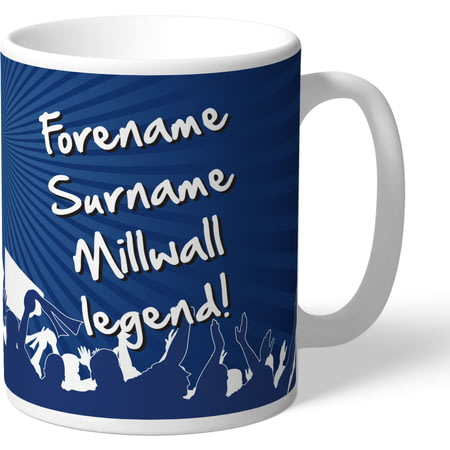 Personalised Millwall FC Legend Mug