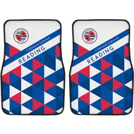 Personalised Reading FC Patterned Front Car Mats