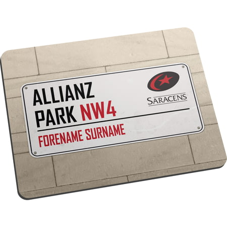 Personalised Saracens Street Sign Mouse Mat
