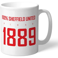 Personalised Sheffield United FC 100 Percent Mug