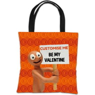 Personalised Morph 'Be My Valentine' Tote Bag