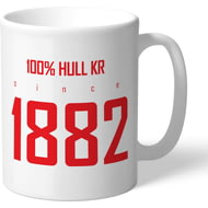 Personalised Hull Kingston Rovers 100 Percent Mug