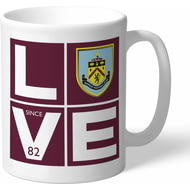 Personalised Burnley Love Mug