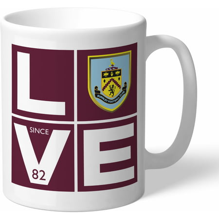 Personalised Burnley FC Love Mug