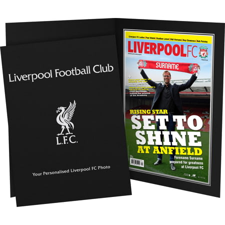 Personalised Liverpool FC Magazine Front Cover Photo Folder