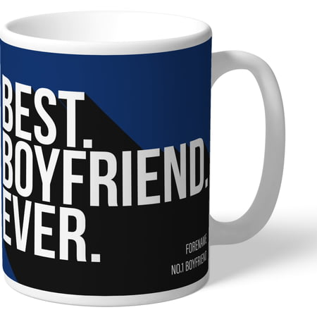 Personalised Millwall FC Best Boyfriend Ever Mug