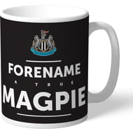 Personalised Newcastle United True Magpie Mug