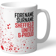 Personalised Sheffield United FC Proud Mug