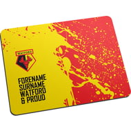 Personalised Watford FC Proud Mouse Mat