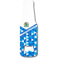 Personalised Blackburn Rovers FC Patterned Bottle Shaped Bottle Opener