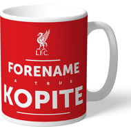 Personalised Liverpool FC True Kopite Mug