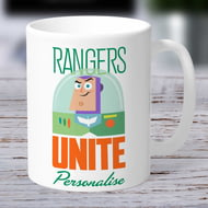 Personalised Toy Story 4 Rangers Unite Ceramic Mug