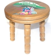 Personalised Pixie Wooden Stool