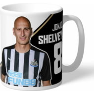 Personalised Newcastle United FC Shelvey Autograph Mug